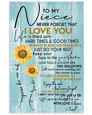 YOU ARE MY SUNSHINE - AMAZING GIFT FOR NIECE 11x17 Poster front