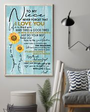 YOU ARE MY SUNSHINE - AMAZING GIFT FOR NIECE 11x17 Poster lifestyle-poster-1