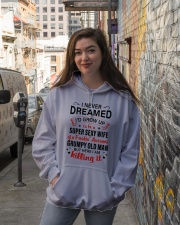 I NEVER DREAMED - LOVELY GIFT FOR WIFE Hooded Sweatshirt lifestyle-unisex-hoodie-front-1