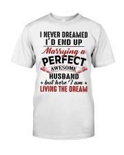 LIVING THE DREAM - LOVELY GIFT FOR WIFE Premium Fit Mens Tee thumbnail