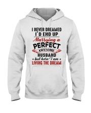 LIVING THE DREAM - LOVELY GIFT FOR WIFE Hooded Sweatshirt tile