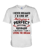 LIVING THE DREAM - LOVELY GIFT FOR WIFE V-Neck T-Shirt thumbnail