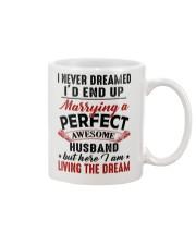 LIVING THE DREAM - LOVELY GIFT FOR WIFE Mug thumbnail