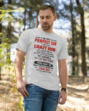 I LOVE HER AND SHE IS MY BEST FRIEND Classic T-Shirt apparel-classic-tshirt-lifestyle-front-49