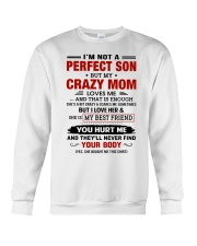 I LOVE HER AND SHE IS MY BEST FRIEND Crewneck Sweatshirt thumbnail