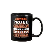 Proud Grandson Of A Smartass Grandma Mug thumbnail