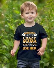 Warning Crazy Mama Youth T-Shirt lifestyle-youth-tshirt-front-3