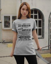 I AM A LUCKY MOTHER-IN-LAW Classic T-Shirt apparel-classic-tshirt-lifestyle-19