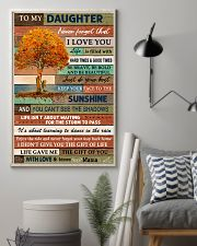 I LOVE YOU - BEST GIFT FOR DAUGHTER FROM MAMA 11x17 Poster lifestyle-poster-1