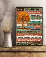 I LOVE YOU - BEST GIFT FOR DAUGHTER FROM MAMA 11x17 Poster lifestyle-poster-3