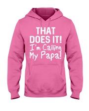 Calling Papa Hooded Sweatshirt thumbnail
