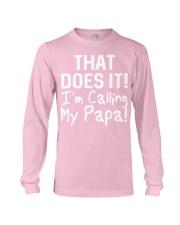 Calling Papa Long Sleeve Tee thumbnail