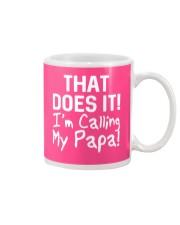 Calling Papa Mug thumbnail