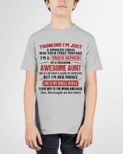 I'M A PROUD NEPHEW OF A FREAKING AWESOME AUNT Youth T-Shirt garment-youth-tshirt-front-01