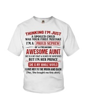 I'M A PROUD NEPHEW OF A FREAKING AWESOME AUNT Youth T-Shirt tile
