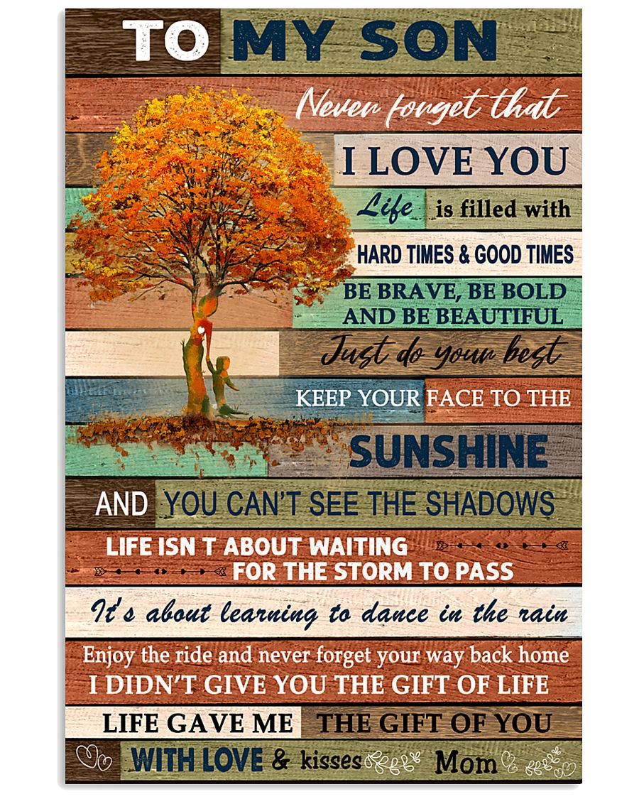 THE GIFT OF YOU - GREAT GIFT FOR SON 11x17 Poster