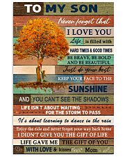 THE GIFT OF YOU - GREAT GIFT FOR SON 11x17 Poster front