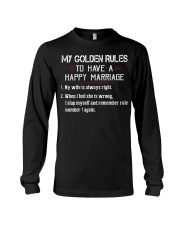 MY GOLDEN RULES TO HAVE A HAPPY MARRIAGE Long Sleeve Tee thumbnail