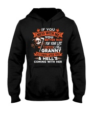 Granny Is Coming After You Hooded Sweatshirt thumbnail
