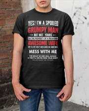 I'M A SPOILED GRUMPY MAN - BEST GIFT FOR HUSBAND Classic T-Shirt apparel-classic-tshirt-lifestyle-31