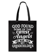 CUTEST ANGELS - MY GRANDCHILDREN Tote Bag thumbnail