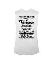 I HAVE A CRAZY GIRLFRIEND -  GIFT FOR BOYFRIEND  Sleeveless Tee thumbnail