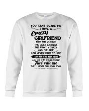 I HAVE A CRAZY GIRLFRIEND -  GIFT FOR BOYFRIEND  Crewneck Sweatshirt thumbnail