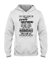 I HAVE A CRAZY GIRLFRIEND -  GIFT FOR BOYFRIEND  Hooded Sweatshirt thumbnail
