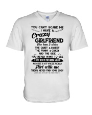 I HAVE A CRAZY GIRLFRIEND -  GIFT FOR BOYFRIEND  V-Neck T-Shirt thumbnail