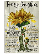 I LOVE YOU - TO MUM FROM DAUGHTER 11x17 Poster front