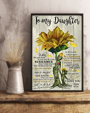 I LOVE YOU - TO MUM FROM DAUGHTER 11x17 Poster lifestyle-poster-3