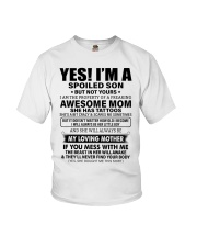 SHE BOUGHTER ME THIS SHIRT - MOM TO SON Youth T-Shirt thumbnail