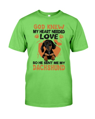 GOD SENT ME MY DACHSHUND