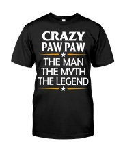 Crazy Paw Paw Classic T-Shirt front