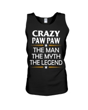 Crazy Paw Paw Unisex Tank thumbnail