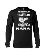 Guardian Is My Nana  Long Sleeve Tee thumbnail