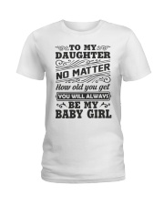 I Will Always Love My Baby Girl Ladies T-Shirt thumbnail