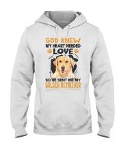 GOD SENT ME MY GOLDEN RETRIEVER Hooded Sweatshirt thumbnail