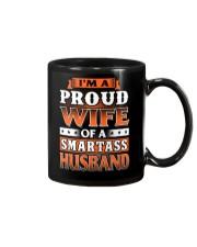 Proud Wife Of A Smartass Husband Mug thumbnail