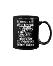 Touch My Grandsons And You'll Find Out Mug thumbnail