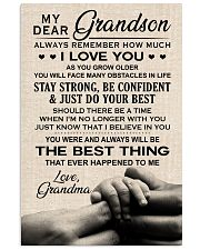 I LOVE YOU - SPECIAL GIFT FOR GRANDSON 11x17 Poster front