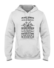 HE IS MY WHOLE WORLD Hooded Sweatshirt tile