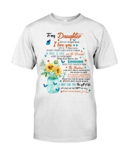 JUST DO YOUR BEST - LOVELY GIFT FOR DAUGHTER Classic T-Shirt thumbnail