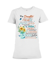 JUST DO YOUR BEST - LOVELY GIFT FOR DAUGHTER Premium Fit Ladies Tee thumbnail