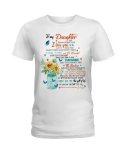 JUST DO YOUR BEST - LOVELY GIFT FOR DAUGHTER Ladies T-Shirt thumbnail