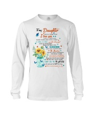 JUST DO YOUR BEST - LOVELY GIFT FOR DAUGHTER Long Sleeve Tee thumbnail