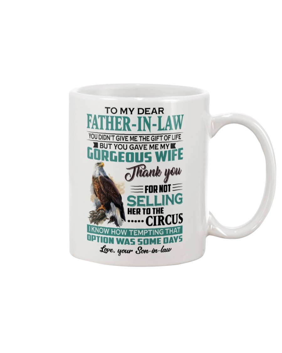 LOVELY GIFT FOR FATHER-IN-LAW FROM SON-IN-LAW Mug