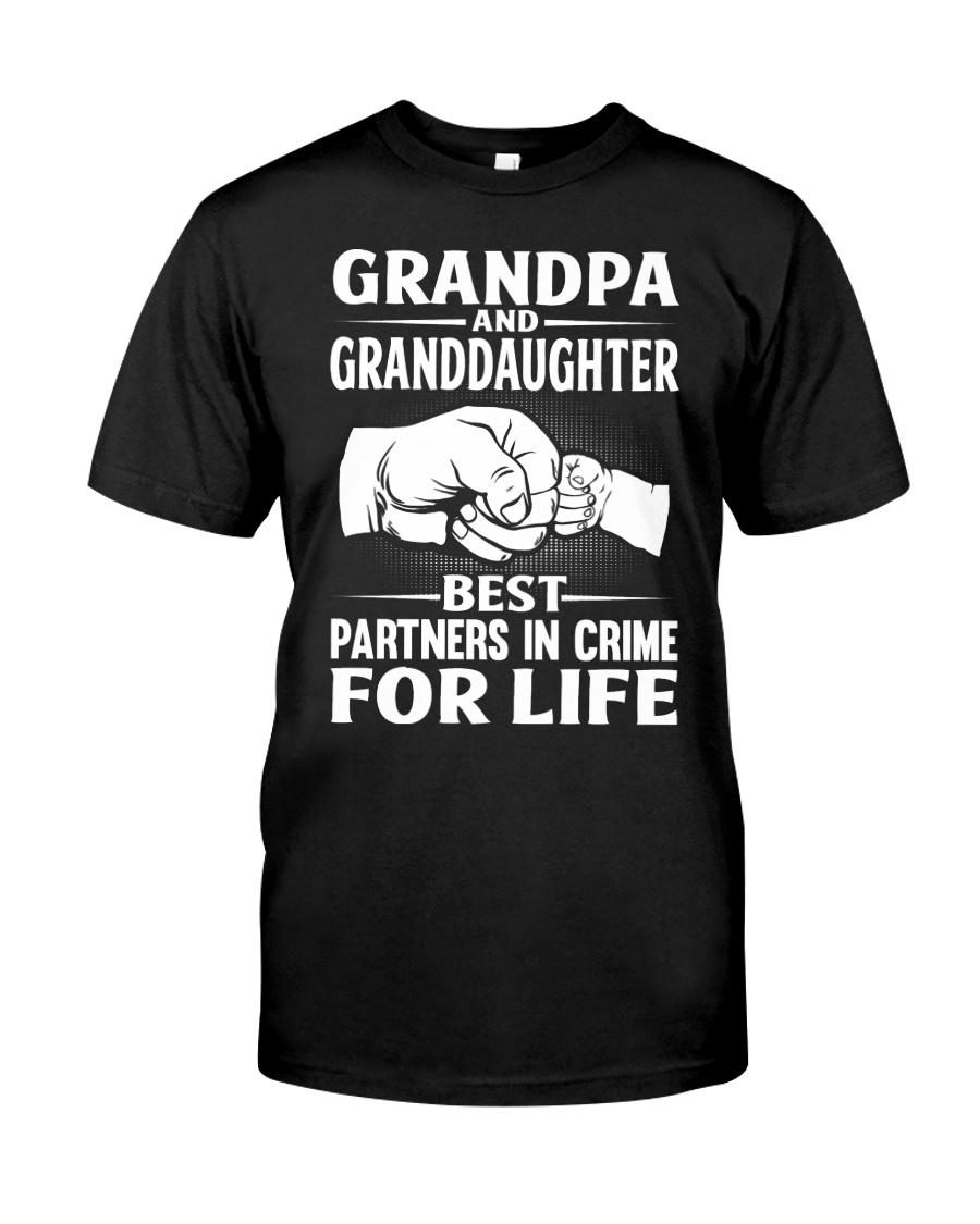 BEST PARTNERS IN CRIME Classic T-Shirt