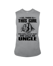 WHO KINDA STOLE MY HEART - PERFECT GIFT FOR UNCLE Sleeveless Tee thumbnail