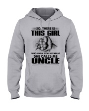 WHO KINDA STOLE MY HEART - PERFECT GIFT FOR UNCLE Hooded Sweatshirt thumbnail